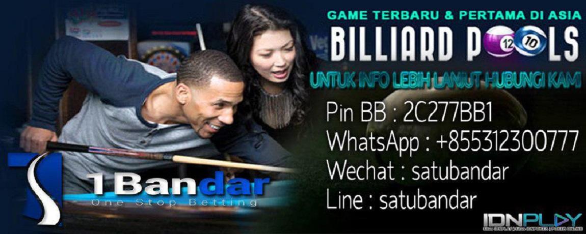 Agen Judi Live Billiards Online IDNPLAY